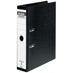 Bibliorat A4 suspendabil, 75mm, ELBA Rado - marmorat