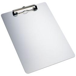Clipboard simplu A4, din aluminiu, ALCO - argintiu