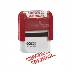 Stampila Colop Printer 20, CONFORM CU ORIGINALUL