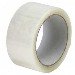 Banda adeziva de ambalare transparenta Bedax, 48mmx66y, 6 bucati/set