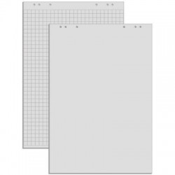 Hartie flipchart matematica, 100 x 65 cm, 20 coli/top