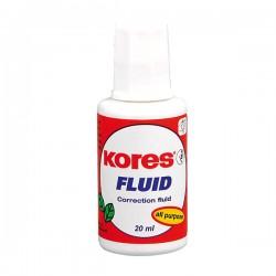 Fluid corector Kores, pe baza de solvent, 20 ml