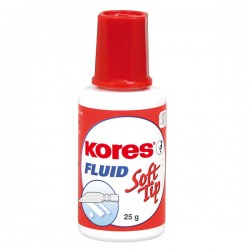 Fluid corector Kores Soft Tip, pe baza de solvent, 20 ml