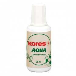 Fluid corector Kores, pe baza de apa, 20 ml