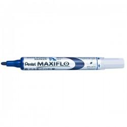 Marker pentru tabla Pentel Maxiflo, 4 mm, albastru