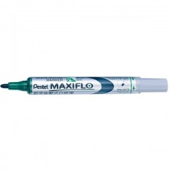 Marker pentru tabla Pentel Maxiflo, 4 mm, verde