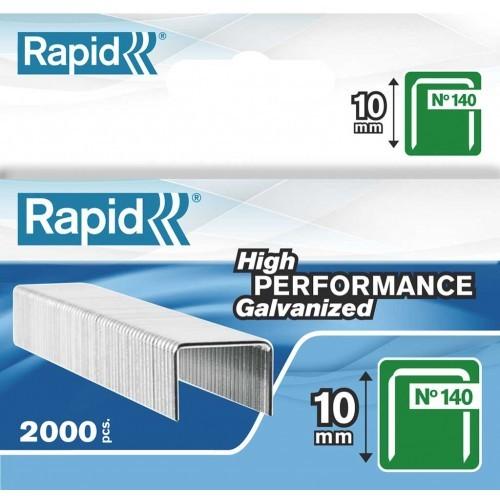 Capse RAPID 140/10, 2000 buc/cutie - pentru pistol de capsat RAPID