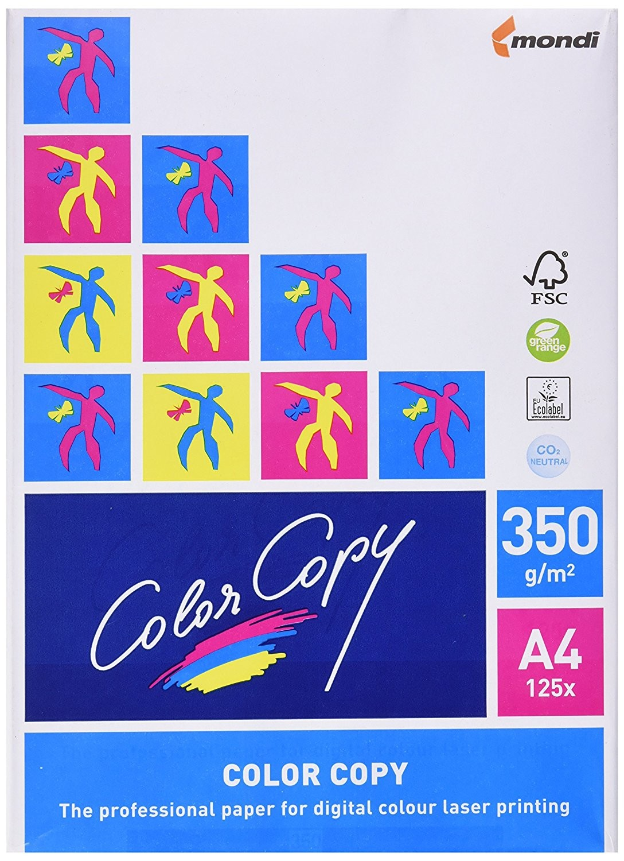 Hartie Color Copy, A4, 350 g, 125 coli/top