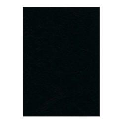Coperti indosariere imitatie piele, A4, negru, 100 coli/cutie
