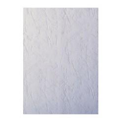 Coperti indosariere imitatie piele, A4, alb, 100 coli/cutie