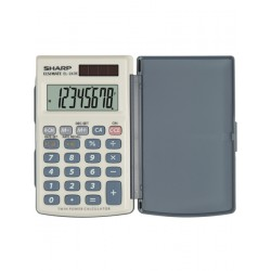 Calculator de buzunar, 8 digits, 105 x 64 x 11 mm, conversie, capac din plastic, SHARP EL-243SB - grI