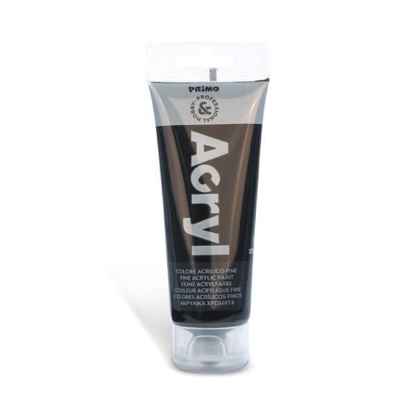 Tempera acrilica Primo 75 ml, negru