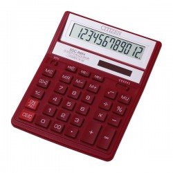 Calculator de birou Citizen SDC-888X, rosu