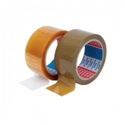 Banda adeziva Tesa, 48 mm x 66 m, transparenta