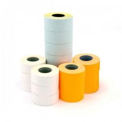 Etichete albe Apli pentru marcator, 21 x 12 mm, 100 bucati/rola
