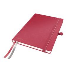 Caiet de birou A5, LEITZ Complete, dictando - rosu