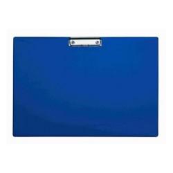 Clipboard simplu A3 - landscape, plastifiat PVC, ALCO - albastru