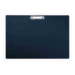 Clipboard simplu A3 - landscape, plastifiat PVC, ALCO - negru