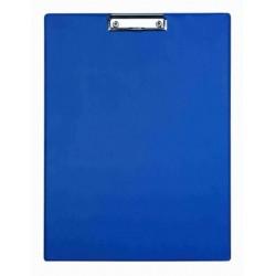Clipboard simplu A3 - portrait, plastifiat PVC, ALCO - albastru
