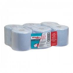 Lavete industriale Kimberly-Clark Wypall L10, 1 strat, 6 bucati/bax, albastre