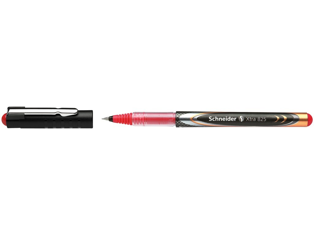 Roller cu cerneala SCHNEIDER Xtra 825, ball point 0.5mm - scriere rosie