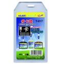 Buzunar dubla fata pentru ID carduri, PVC flexibil, 54 x 85mm, vertical, 5 buc/set, KEJEA - transp