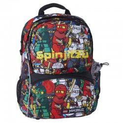 Ghiozdan scoala Freshman + sac sport LEGO Core Line - design NinjaGo Comic