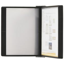 Display perete (suport pentru 20 buzunare A4), PROBECO-EasyMount - antracit