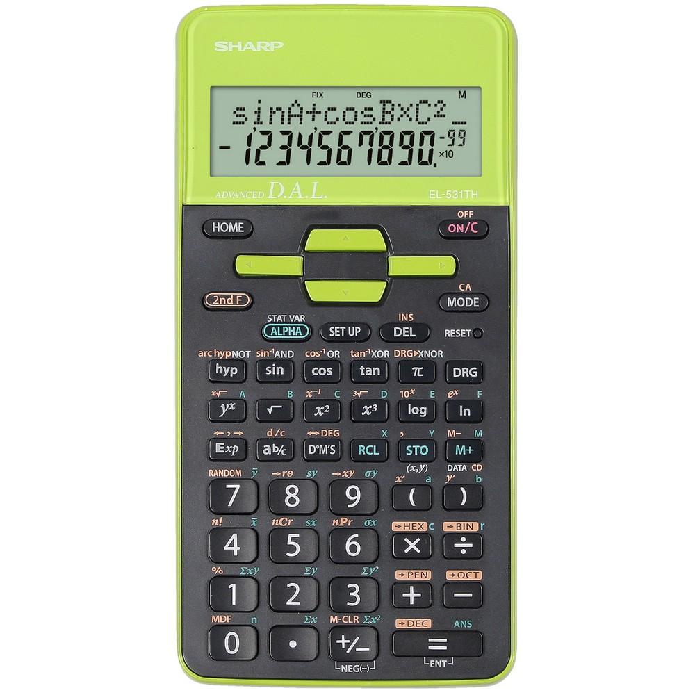 Calculator stiintific, 10 digits, 273 functiuni, 161x80x15 mm, dual power, SHARP EL-531THGR - gri