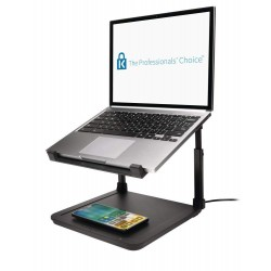 Kensington SmartFit® Suport pt. laptop cu inaltime reglabila, suport incarcare wireless pt. telefon