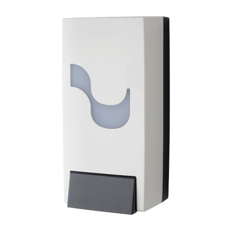 Dispenser manual, Celtex, Megamini, pentru sapun spuma, alb, 900 ml