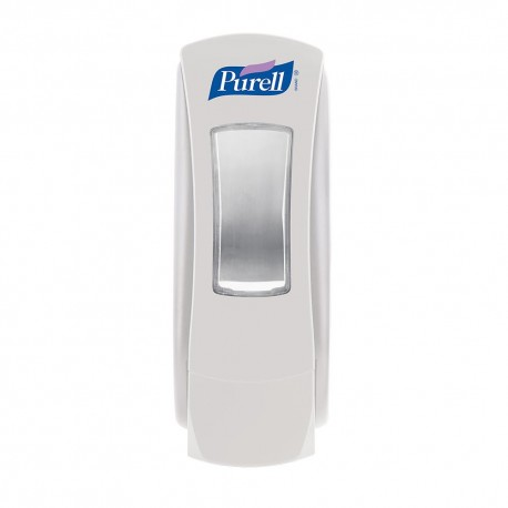 Dispenser Purell, ADX, manual, pentru gel dezinfectant, 1200 ml, alb
