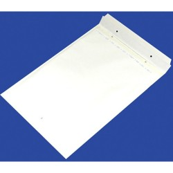 Plic antisoc I19, 320/455 - ext./300/445 - int., lipire siliconica, 10 buc/set, Office Products - alb