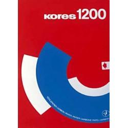 Hartie copiativa Kores, 100 coli/top, albastru