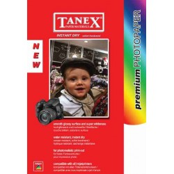 Hartie foto lucioasa, pentru inkjet, A6 - 100 x 150mm - 240gsm, 50 coli/top, TANEX