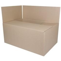 Cutie carton ondulat, 400gr/mp, 555x400x322mm, DONAU - kraft