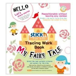 "Carte educativa Stick""n Tracing Work Book - My Fairy Tale"