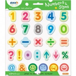 "Set educativ Stick""n Numbers & Signs"