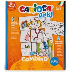 Set articole creative CARIOCA Baby Combino Job 2+