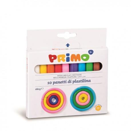 Plastilina Morocolor, 180 g/cutie, 10 culori/cutie