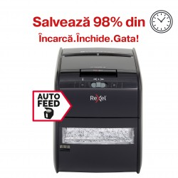 Distrugator automat pentru documente Rexel Auto+ 60X Cross Cut