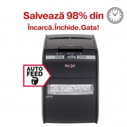 Distrugator automat pentru documente Rexel Auto+ 90X Cross Cut