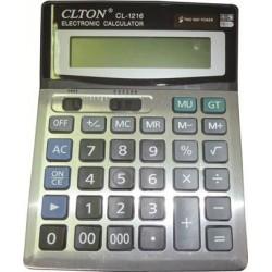 Calculator de birou, 16 digiti, dual power