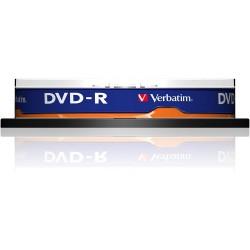 DVD-R Verbatim 16x, 4.7 GB, Matt Silver, 10 buc/set
