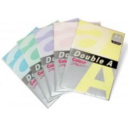 Hartie color pentru copiator A4, 80g/mp, 25coli/top, Double A - pastel cheese
