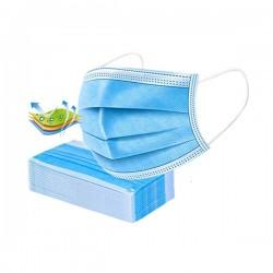 Set masti de protectie, EN 149, 3 straturi, 50 bucati/set, albastru