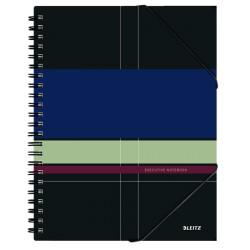 Caiet Leitz Executive Be Mobile cu spira, coperta PP, A4, matematica