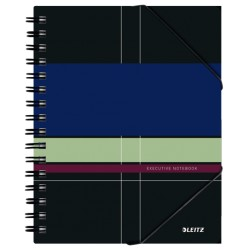 Caiet Leitz Executive Be Mobile cu spira, coperta PP, A5, matematica