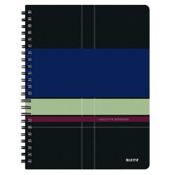 Caiet Leitz Executive cu spira, coperta PP, A4, matematica
