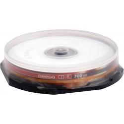 CD-R Omega 52x, 700MB, 80 min, 10 bucati/cake